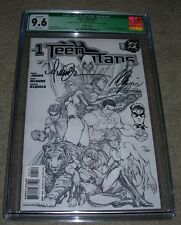 Teen Titans (2003) 1 SKETCH DF signed Turner & re-marked Alquiza CGC 9.6  17/199