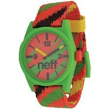 Neff Daily Woven Watch Rasta/Reggae
