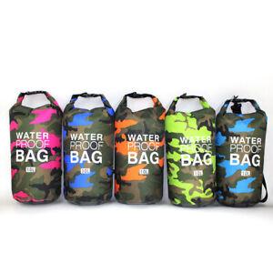 Floating Waterproof Storage PVC Dry Bag Pouch BoatingKayakingHikingSurfingDiving