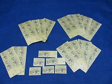 National Apprenticeship Program Stamp 27250 4¢ 62Ct. 14 Sheets And 6 Singles Mnh