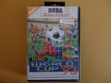 Sega Master System Tecmo World Cup 93 PAL Complete