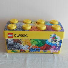 Lego 10696 B/N Creative Brick Set With Plastic Storage Box. 484 Pieces.