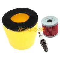 Tune Up Kit Air Filter For Suzuki LTZ 400 LT-Z400 Quadsport Z400 2x4 Spark Plug