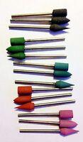 Mounted Rubber Polishing Points 15 piece Set  PREMIUM USA MADE Jewelry Dental