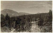 RPPC,Jenks Lake,CA.Y.M.C.A.Camp,San Bernadino Mts.Bruner Photo,Used,1939