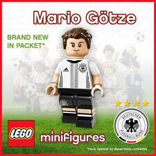 Genuine Lego Minifigure DFB - The Mannschaft Mario Götze No.19 German football