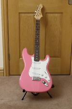 Pink Wesley Strat/Stratocaster Full Size Electric Guitar