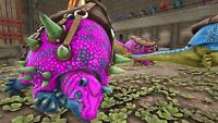 Ark Survival Evolved Xbox One PvE Unleveled Color Mutated Doedicurus 200+
