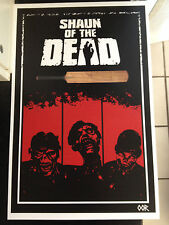 Shaun of the Dead movie poster print