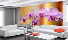 Flowers Design, Orchid  Wall Mural Photo Wallpaper GIANT DECOR Paper Poster