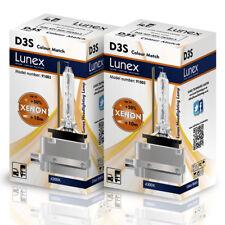 2x D3S Genuine Lunex Ampoules Phare Xénon De Remplacement Pour Philips Osram 4300K