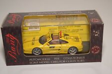 V 1:43 BANG 8036 FERRARI 355 GTS PACE CAR MISANO 1996 YELLOW MINT BOXED RARE