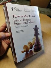 Great Courses DVD How to Play Chess Lessons International Master, Jeremy Silman