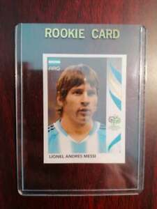 Lionel Messi World Cup 2006 ROOKIE Panini Sticker #185! SEE PICTURES!!