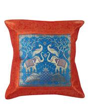 Brocade Animal Print Square Decorative Cushions & Pillows