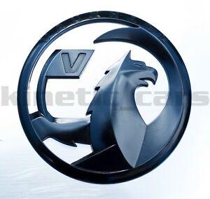 Vauxhall Griffin emblem badge, black corsa astra insignia adam zafira 110mm