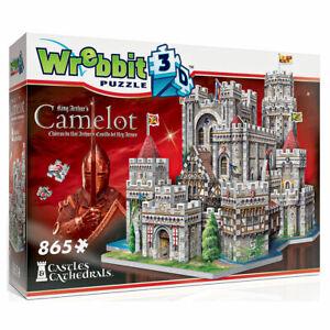 Camelot Castle 865pc 3D Jigsaw Puzzle