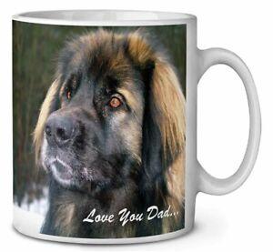 Leonberger Dog 'Love You Dad' Coffee/Tea Mug Gift Idea, DAD-68MG