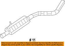 Jeep CHRYSLER OEM 14-18 Cherokee 2.4L-L4 Exhaust-Intermediate Pipe 68349051AA