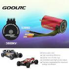 GoolRC S3660 3800KV 4 Poles Brushless Sensorless Motor for 1/8 1/10 RC Car V4B0