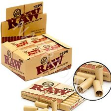 RAW Rolling Cigarette Smoking Paper Pre Rolled Cone Tips UK- FULL BOX (20x Pack)