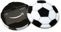Amazon Gift card Soccer Tin Box ONLY ( lot of 2 )