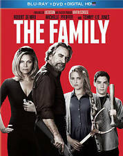 The Family blu-ray + Dvd + Digital HD brand new De Niro