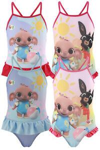 Bing Bunny - Bambina - Costume da Bagno Intero Mare Piscina - Prodotto Originale