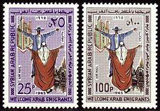 Syria Syria 1965 * mi.915/16 immigration Arab emigration emigrants
