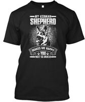 My German Shepherd Tees - Makes Me Happy You Not So Hanes Tagless Tee T-Shirt