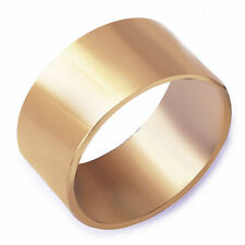Simple Men's Promise Mood Band Ring yellow Gold Filled Size 9 Free Shipping