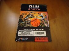 Run Saber Super Nintendo SNES Instruction Manual Booklet ONLY