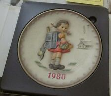 1980 H. I. Hummel plate in original box manufactured by gobel in great condition