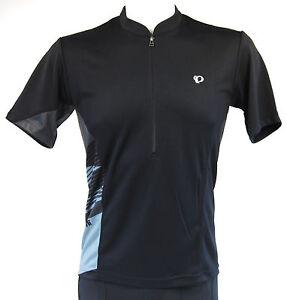 Pearl Izumi Journey Men's Cycling Jersey Black/Gray, Size Small
