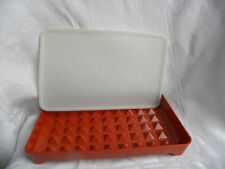 Vintage Tupperware Paprika Bacon, Deli Meat or Hot Dog Keeper or Container