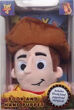 Toy Story 4 Book and Woody Hand Puppet set