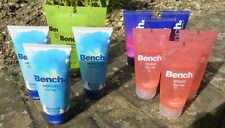 12 X BENCH 75ML SHOWER GELS 4 VARIANTS MENS & WOMENS ONLY £9.99 FREE POST !!!