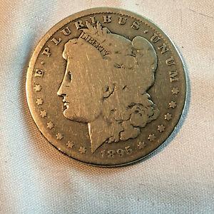 1895 O Morgan Silver Dollar Good Condition