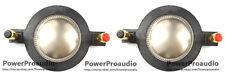 2Pcs  Diaphragm for Mackie SRM-450 C300Z P-Audio BMD-440 SA-1521 SR-152