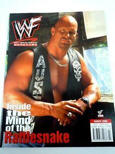 WWF WRESTLING MAGAZINE MARCH 2000 / STEVE AUSTIN COVER