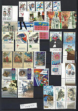 ISRAEL 1997 Complete Year Set With Tabs   32V + 3 S/S MNH