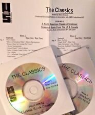 Radio Show: THE CLASSICS 12/25/04 NORTH AMERICAN CLASSICS CHRISTMAS! 2 CD'S/2HRS