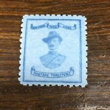 Mafeking 1900 Baden-Powell 3d light blue, SG 20