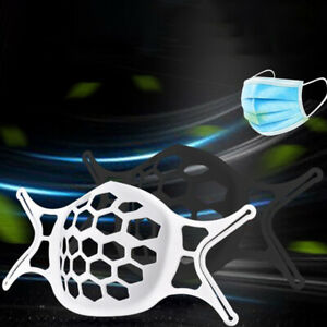 10 Pcs Face Bracket for Mask 3D Silicone Frame Reusable Inner Support Breath Vn