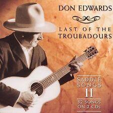 NEW Last Of The Troubadors (Audio CD)