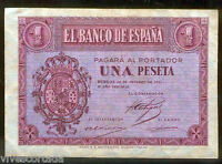 1 Peseta 1937 Burgos @ Muy Bello @