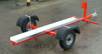 COLLAPSIBLE MOTORCYCLE, MOTORBIKE TRAILER.. PLANS TO BUILD YOUR OWN,