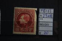 FRANCOBOLLI BELGIO NUOVI** N°291A (F8173)