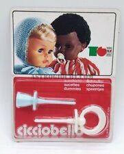 SEBINO CICCIOBELLO CIUCCIO BELLISSIMO ANGELO NERO VINTAGE 1978 NUOVO IN SCATOLA