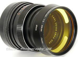 ZEISS Flektogon 1:2.4 f=35mm MACRO Lens for M42 Film & DSLR (see misengraved!!)